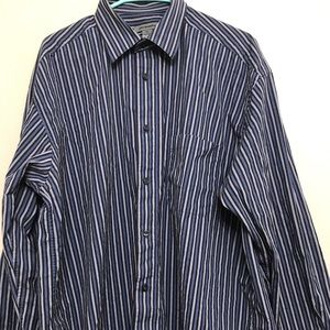 Johnston and Murphy Fine Dress Shirt. Size XL.